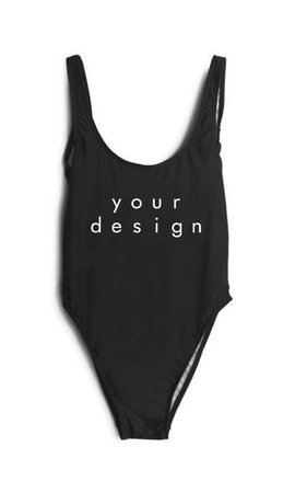 DESIGN YOUR OWN SWIMSUIT