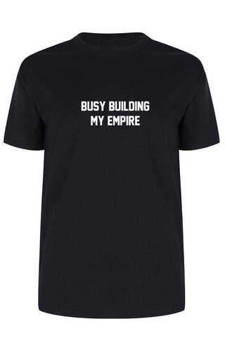 BUILDING AN EMPIRE TEE (MEN)