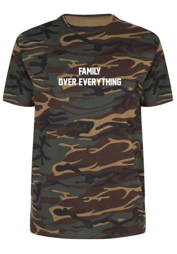 FAMILY OVER EVERYTHING TEE (MEN)