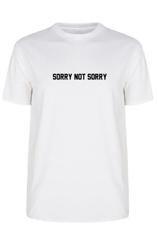 SORRY NOT SORRY TEE (MEN)