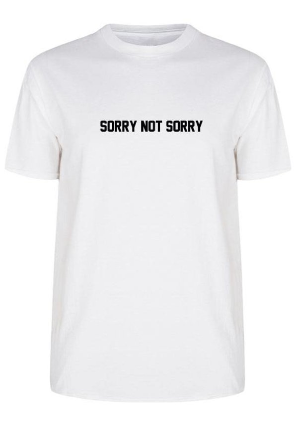 SORRY NOT SORRY TEE (MEN)