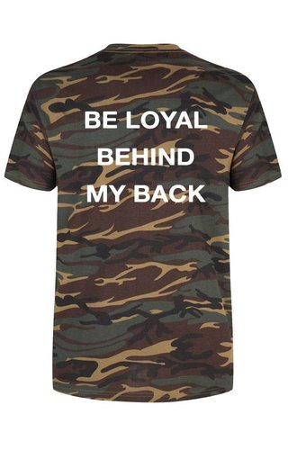 BE LOYAL TEE (MEN)
