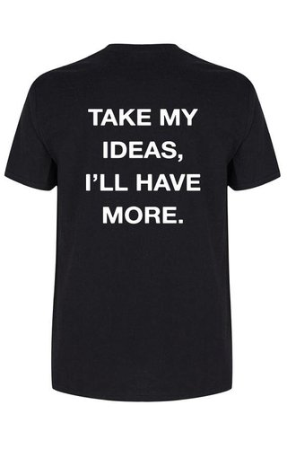 TAKE MY IDEAS TEE (MEN)