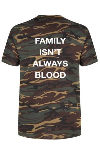 FAMILY ISN'T ALWAYS BLOOD TEE (MEN)