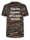 DREAM HUSTLE SUCCEED REPEAT TEE (MEN)