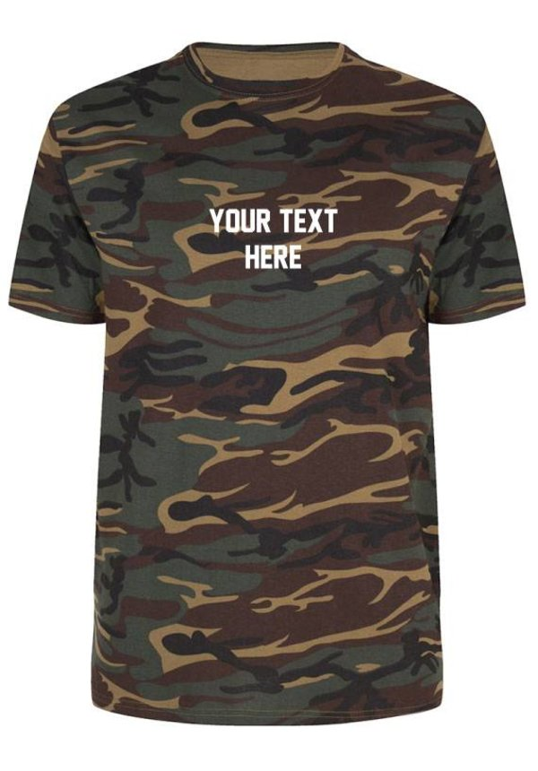 CUSTOM TEXT TEE 2.0 (MEN)