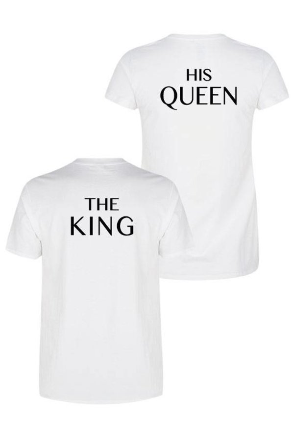 THE KING & HIS QUEEN COUPLE TEES