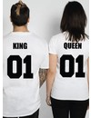 KING & QUEEN COUPLE TEES