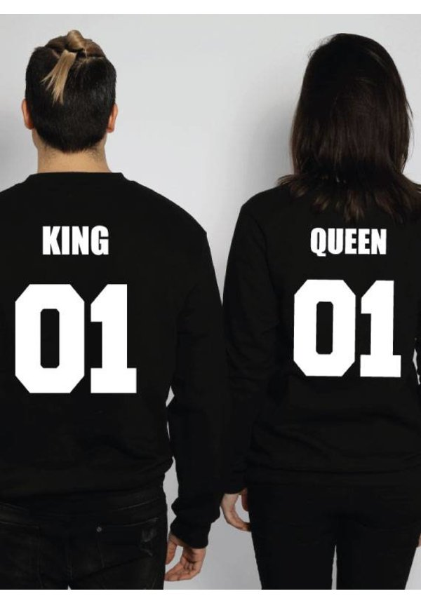 KING & QUEEN COUPLE SWEATERS