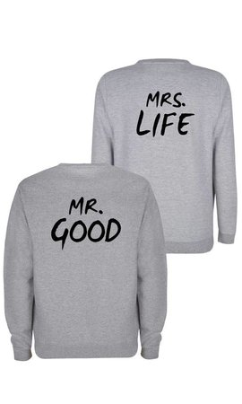 MR&MRS GOOD LIFE COUPLE SWEATERS