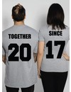 TOGETHER SINCE COUPLE TEES