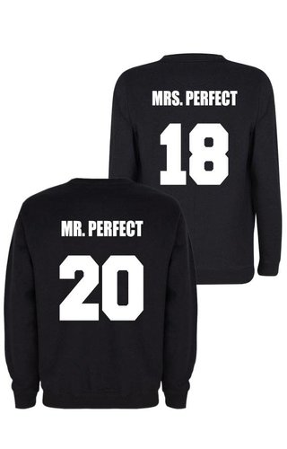 MR & MRS PERFECT COUPLE SWEATERS