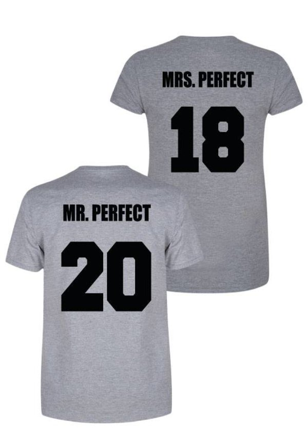 MR & MRS PERFECT COUPLE TEES