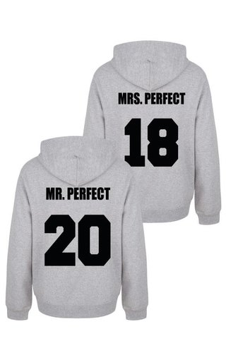 MR & MRS PERFECT COUPLE HOODIES
