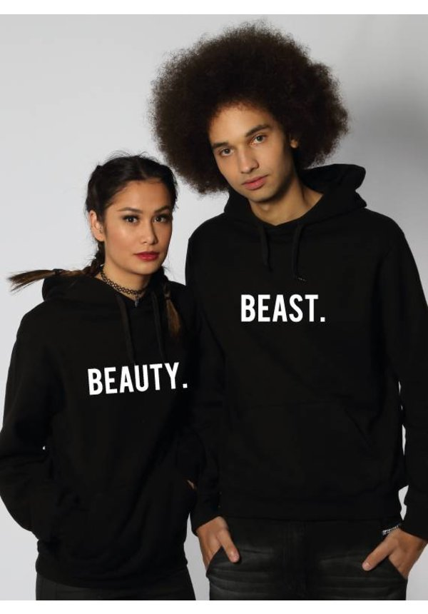 BEAUTY & THE BEAST COUPLE HOODIES