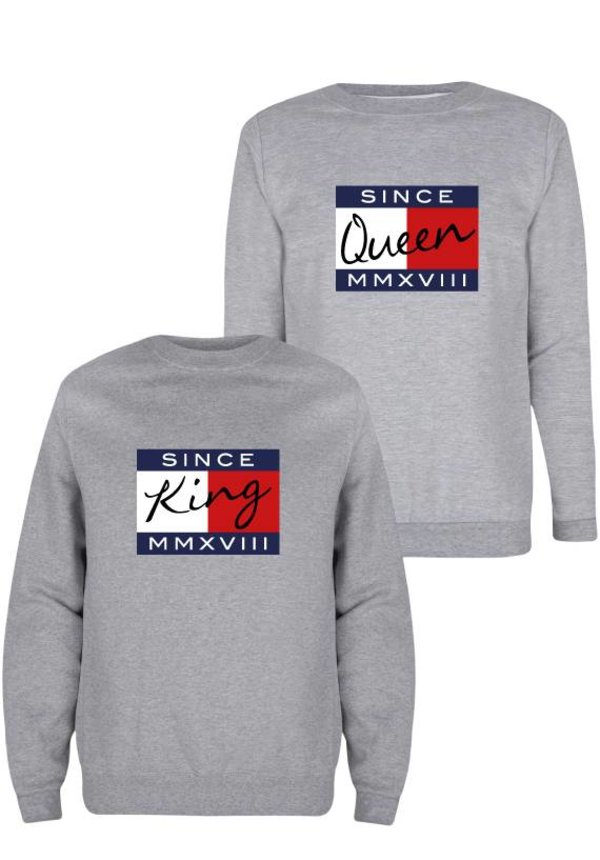 CUSTOM KING & QUEEN COUPLE SWEATERS