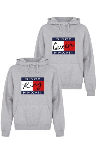 CUSTOM KING & QUEEN COUPLE HOODIES