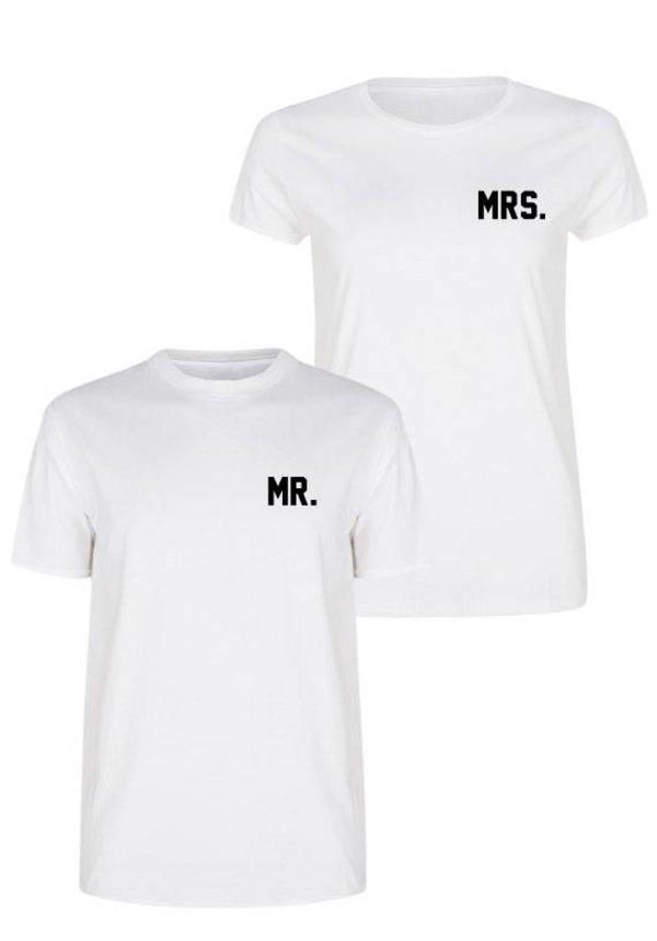 MR & MRS COUPLE TEES