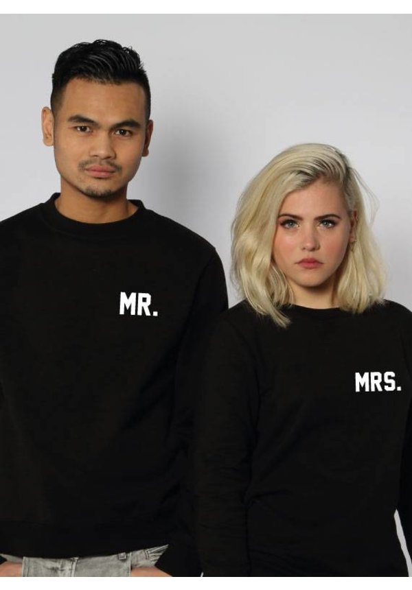 MR & MRS COUPLE SWEATERS