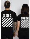KING & QUEEN OFF COUPLE TEES