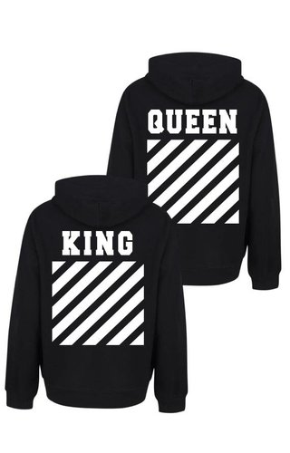KING & QUEEN OFF COUPLE HOODIES