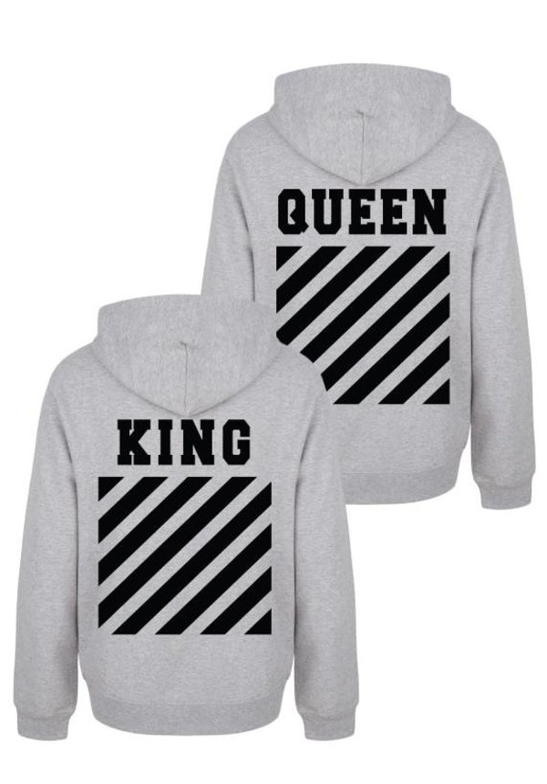 KING & QUEEN OFF COUPLE HOODIES