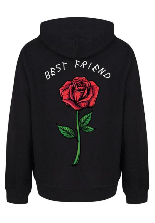 BEST FRIEND ROSE HOODIE