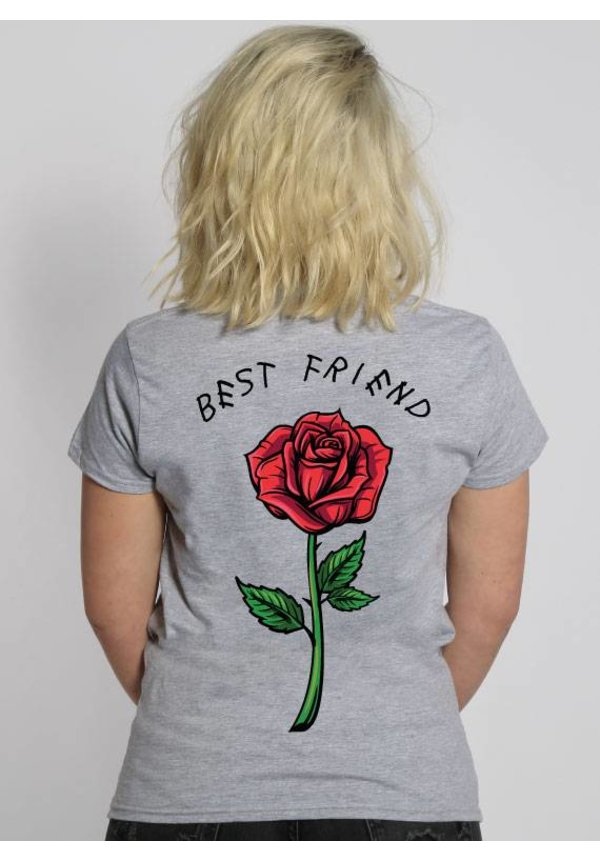 BEST FRIEND ROSE TEE
