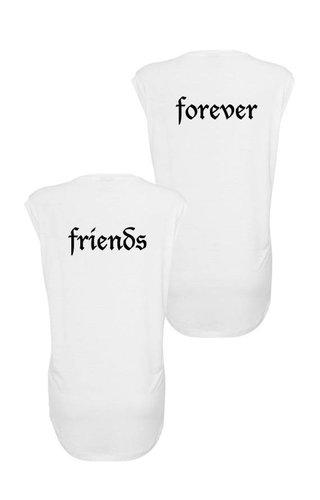 FRIENDS FOREVER SLEEVELESS TEES