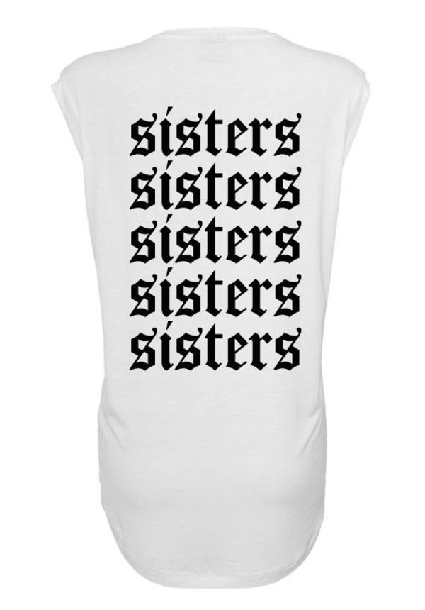 SISTERS 5 BFF SLEEVELESS TEE