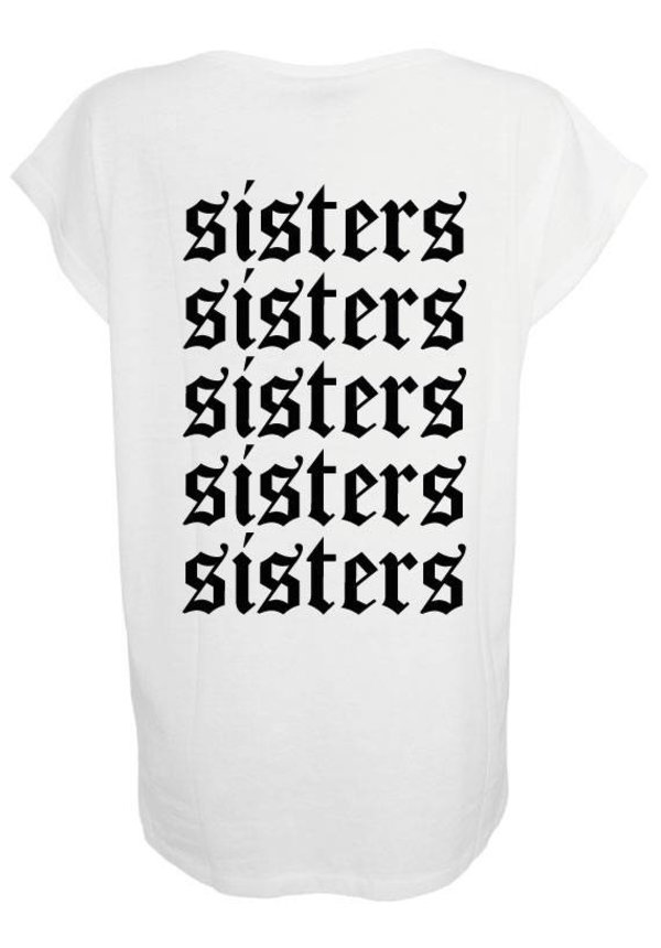 SISTERS 5 BFF BOYFRIEND TEE