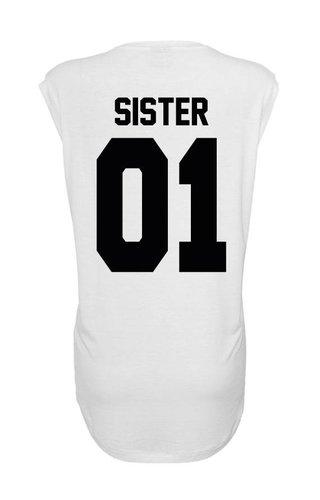 SISTER 01 BFF SLEEVELESS TEE