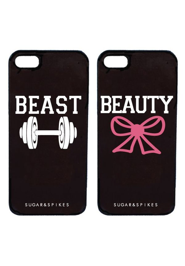 BEAUTY & BEAST COUPLE CASES