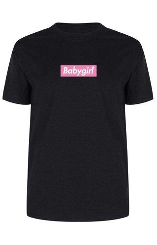 BABYGIRL PINK BOX TEE