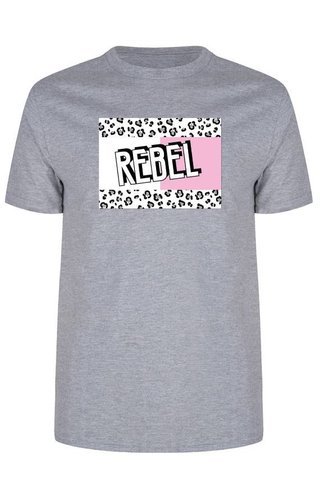 REBEL BLOCK TEE