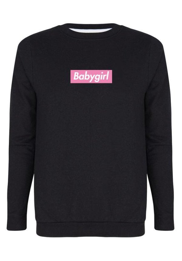 BABYGIRL PINK BOX SWEATER