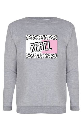 REBEL BLOCK SWEATER
