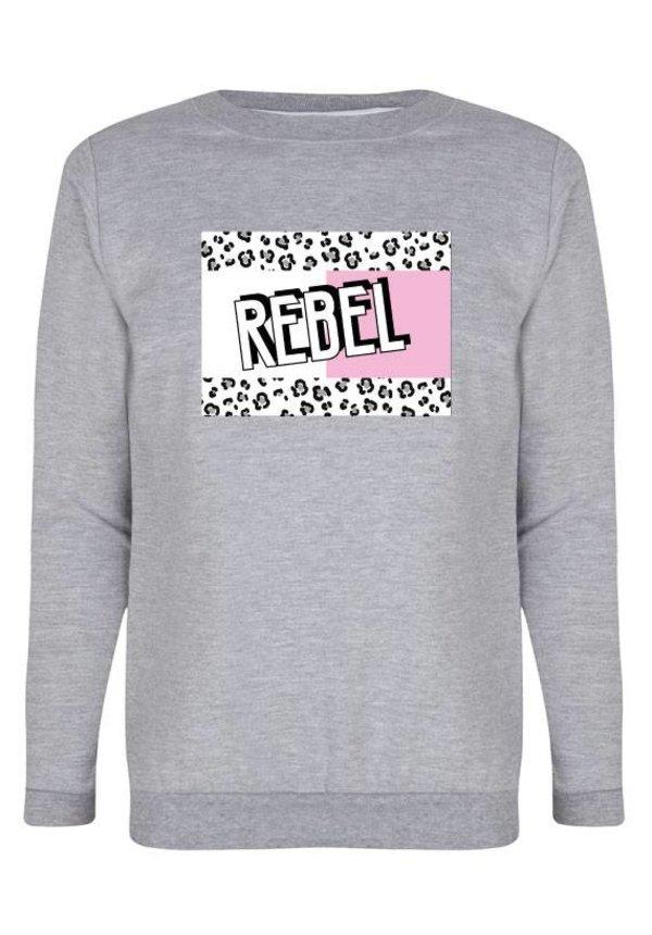 REBEL BLOCK SWEATER