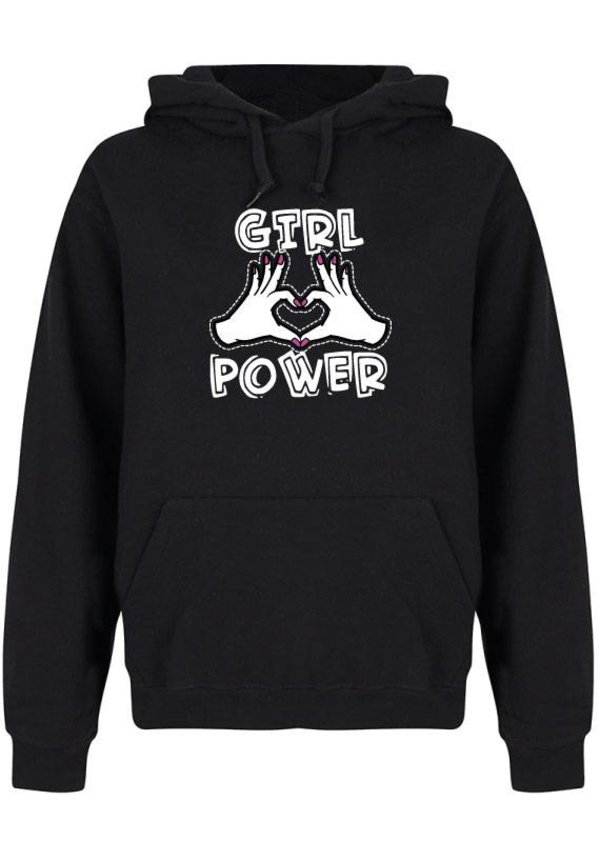 GIRL POWER HANDS HOODIE