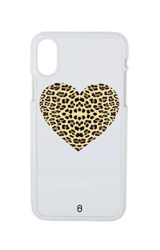HEART LEOPARD CASE