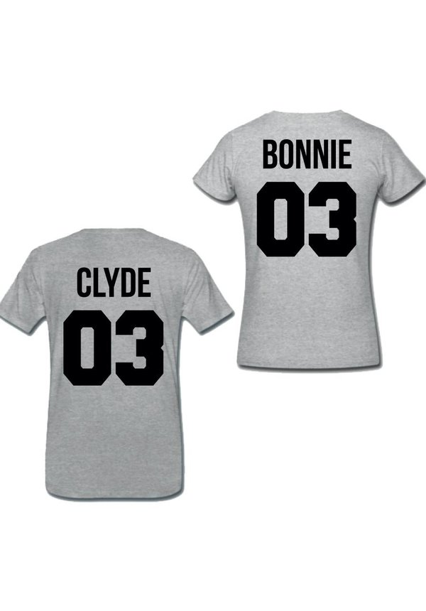 BONNIE & CLYDE COUPLE TEES