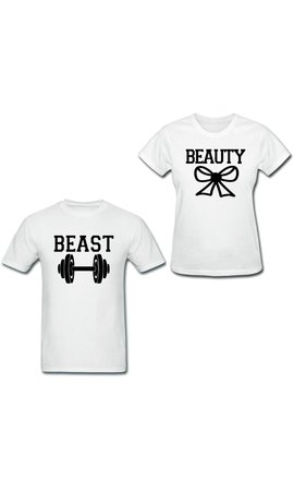 BEAUTY & BEAST COUPLE TEES