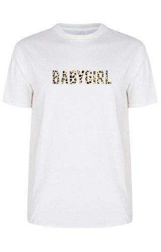 BABYGIRL LEOPARD TEE