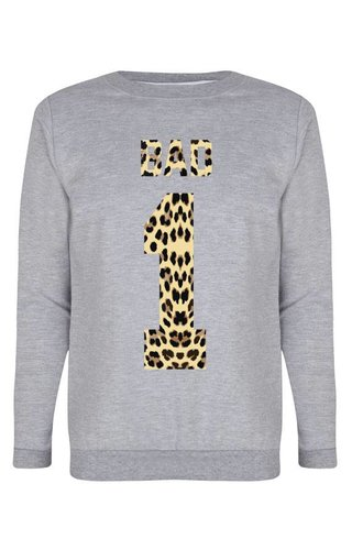 BAD 1 LEOPARD SWEATER