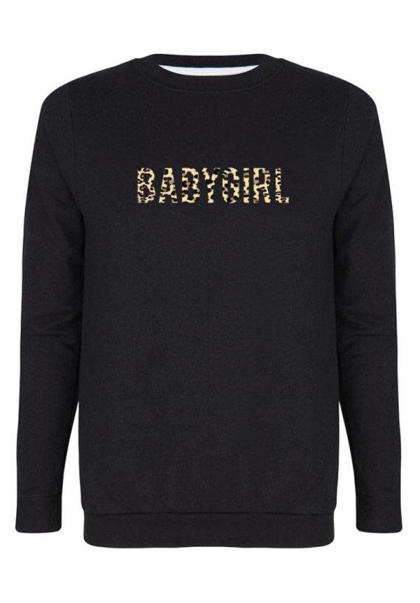 BABYGIRL LEOPARD SWEATER