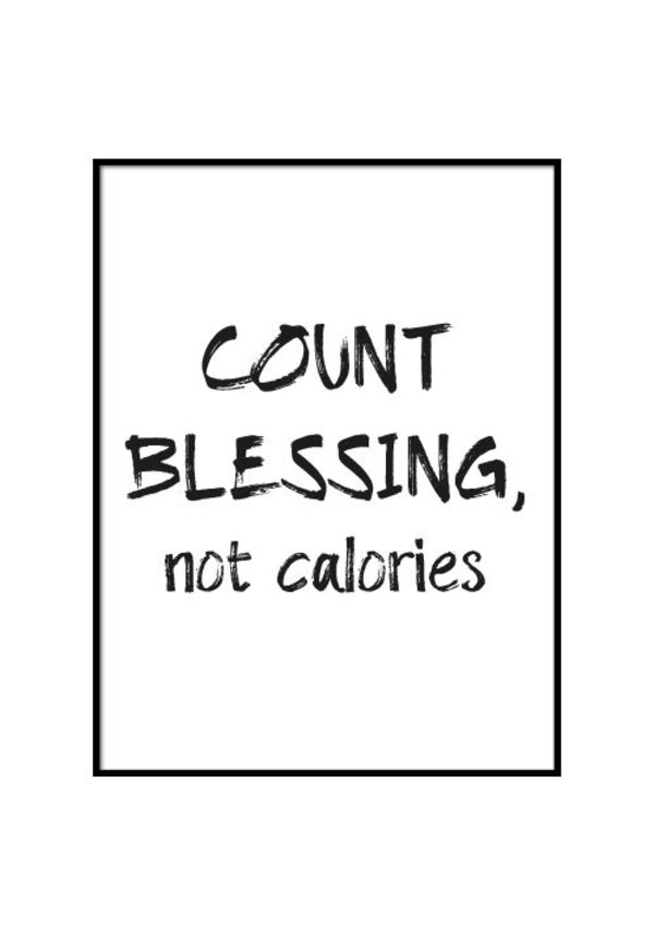 COUNT BLESSINGS POSTER