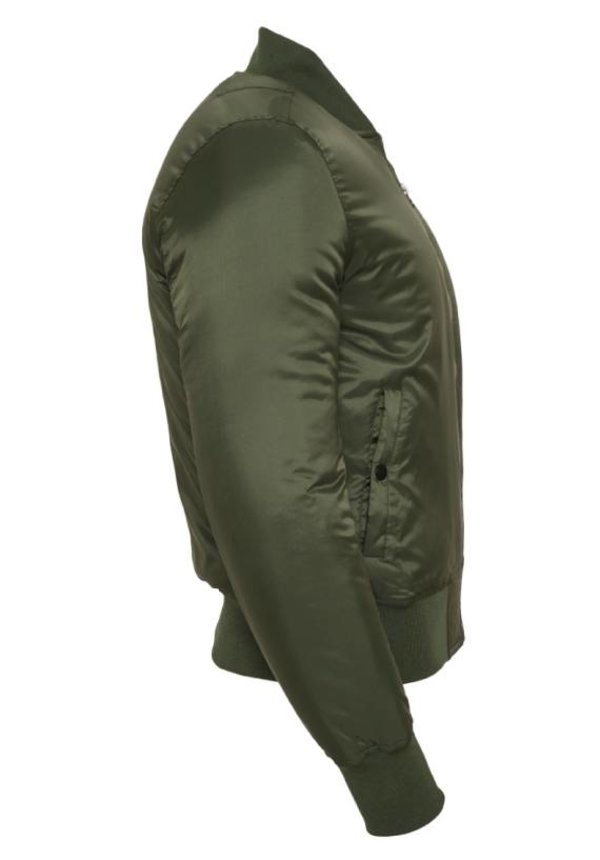 BASIC BOMBER JKT OLIVE (MEN)