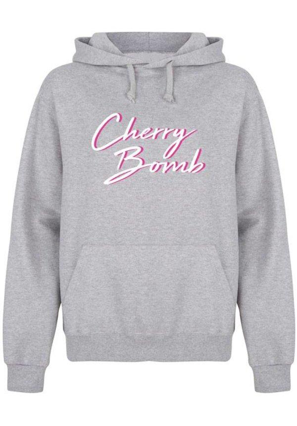 CHERRY BOMB HOODIE NEON PRINT