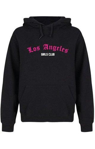 LOS ANGELES GIRLS CLUB HOODIE NEON
