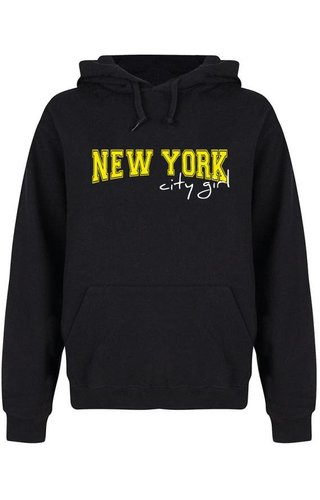NEW YORK CITY GIRL HOODIE NEON